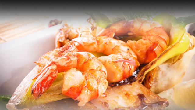 品尝沙巴海鲜美食
