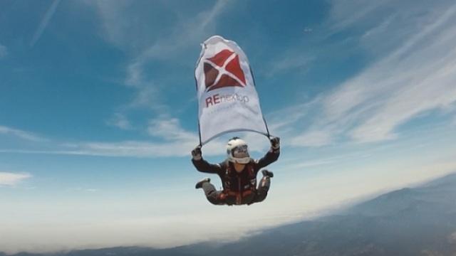 中国人的万米高空跳伞纪录!
