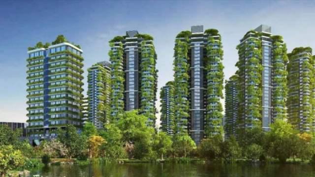 外国人要在中国造首座垂直森林城市