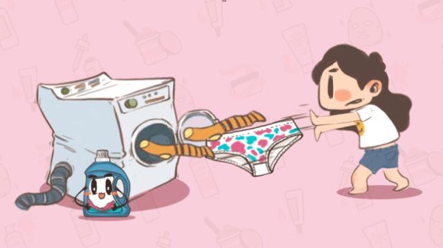 袜子和内裤可以一起洗吗?