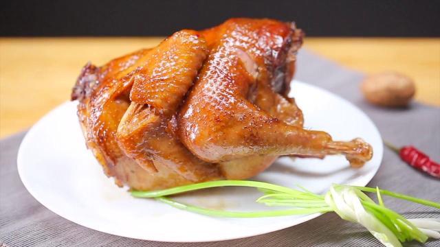 世界上最简单做鸡方法,电饭煲焗鸡
