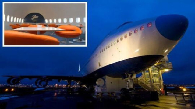 波音747被土豪350万改成五星酒店