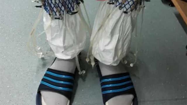 用尿发电的袜子