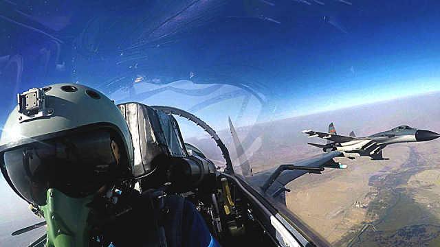 中国空军飞行员飞行小时超美军