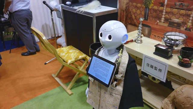 日本葬礼机器人,对死者太不尊重了
