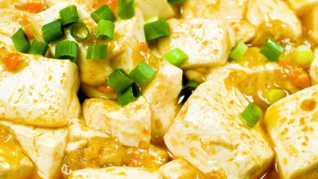 秋季蟹黄的最好搭配,蟹黄豆腐