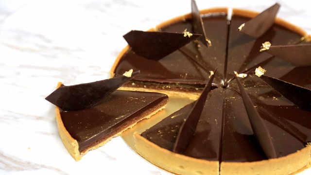 学会了巧克力塔,1/4甜品你都会了