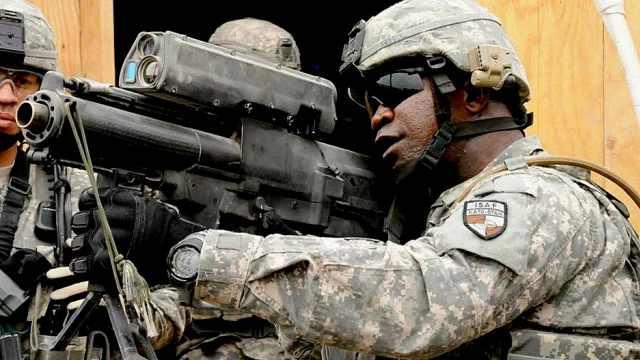 美军研发出来自未来的榴弹枪