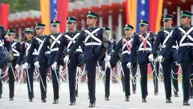 全球最有特色的阅兵仪式