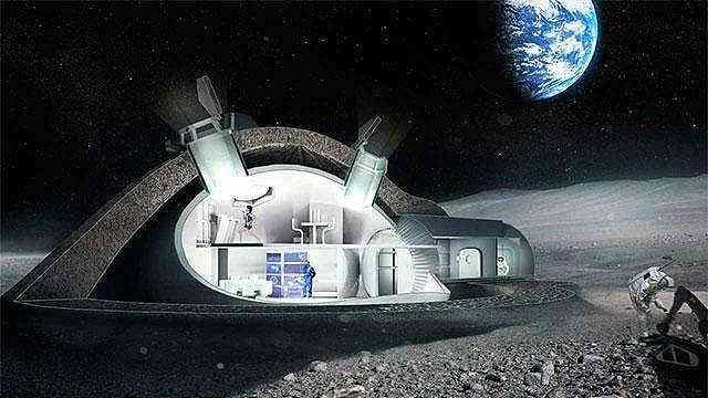 未来月球移民将成为穴居人?