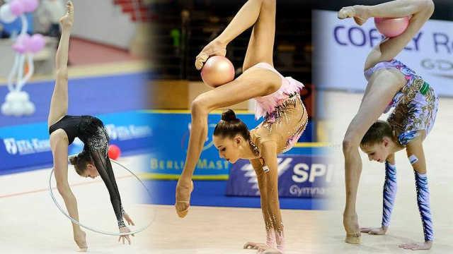 超美!俄罗斯天仙妹纸表演艺术体操