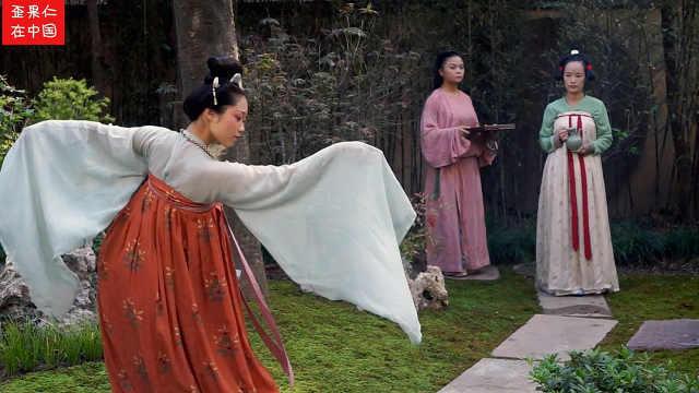 看都市女性怎么还原唐朝宫廷茶宴