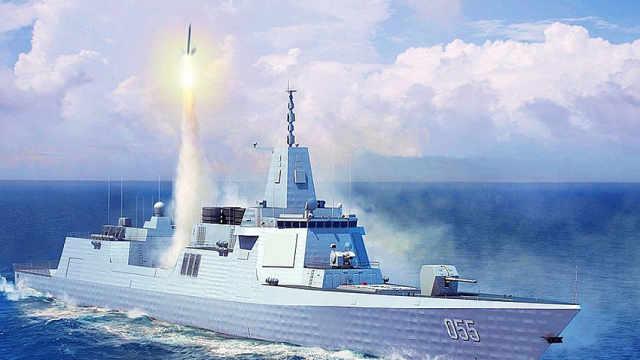 俄媒曝光中国建12艘055