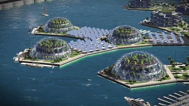 造价1.67亿美金的海上城市!