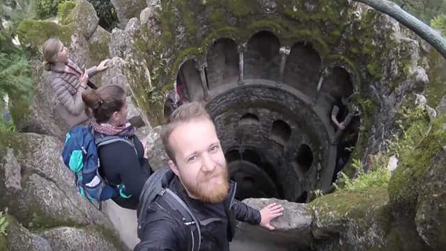葡萄牙神秘古堡,游客疯狂探险!