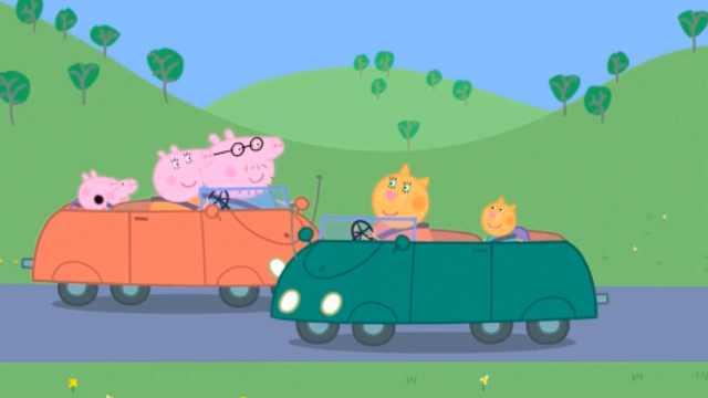 《小猪佩奇》方言版:野地撒欢