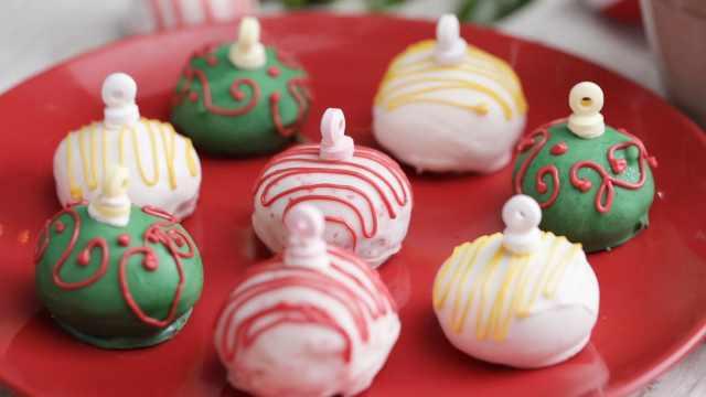 圣诞松露热巧克力饮品
