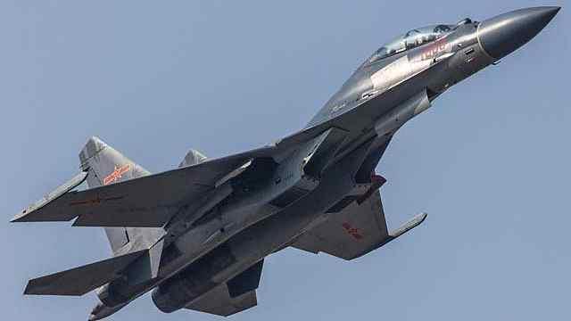 日本海出现大批中国最强军机!
