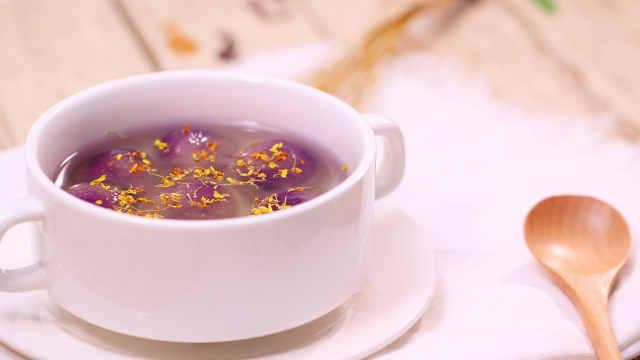 冬至必备良品,紫薯吃出新花样