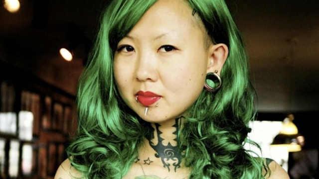 她是中国的文身女王,客户遍布全球