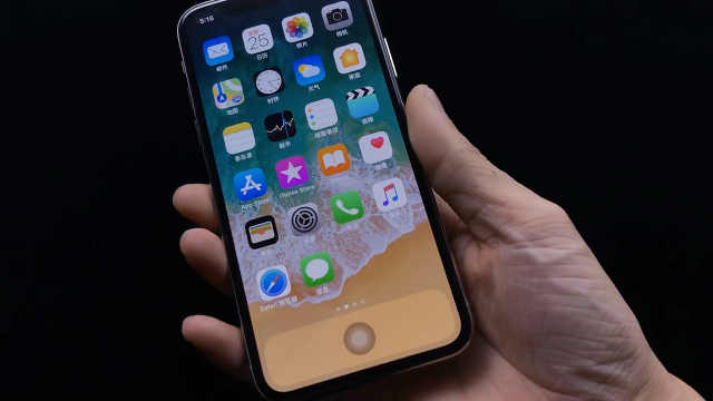 iPhoneX竟然隐藏着虚拟home键?