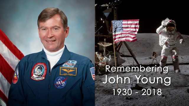 缅怀NASA殿堂级宇航员John Young!