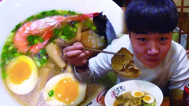 日式豚骨拉面,6种口味天天不重样
