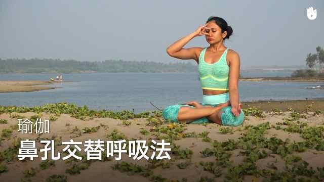 sikana瑜伽教程:交替鼻孔呼吸法