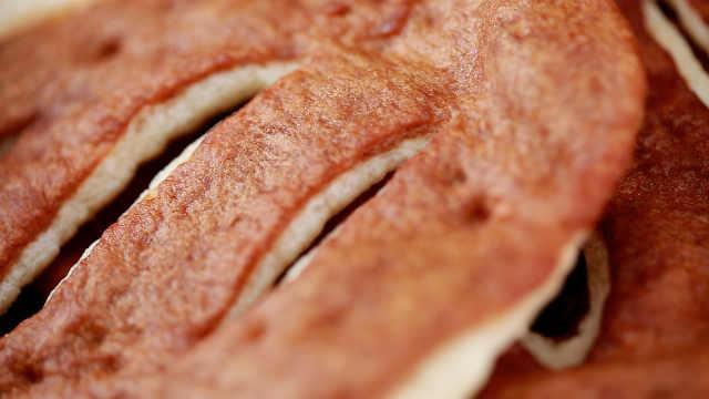 糖油饼这样和面,入口酥脆掉渣