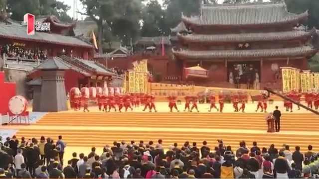 今日梓潼举行文昌祭祀大典