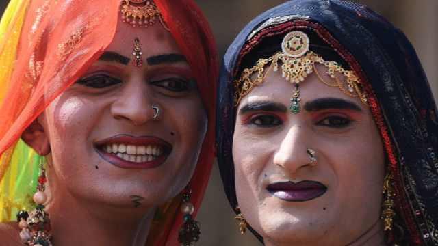 在印度,人妖也是个正经职业!