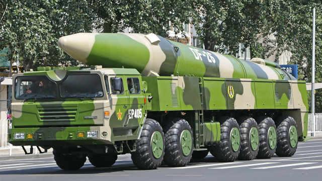 中国弹道导弹新巅峰
