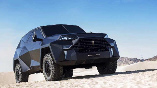 贫穷限制想象!全球最贵SUV售1300万