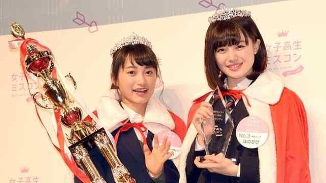 萌!日本最可爱高中生评选结果出炉