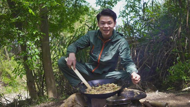 酸菜炒苦笋,3碗米饭都不够!