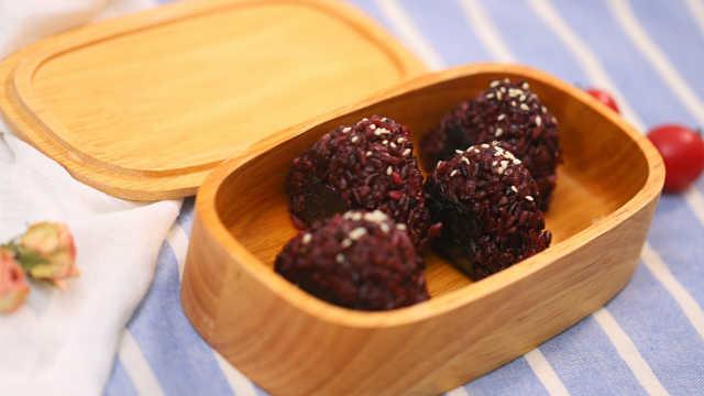 紫米芝士飯團,輕松搞定元氣早餐