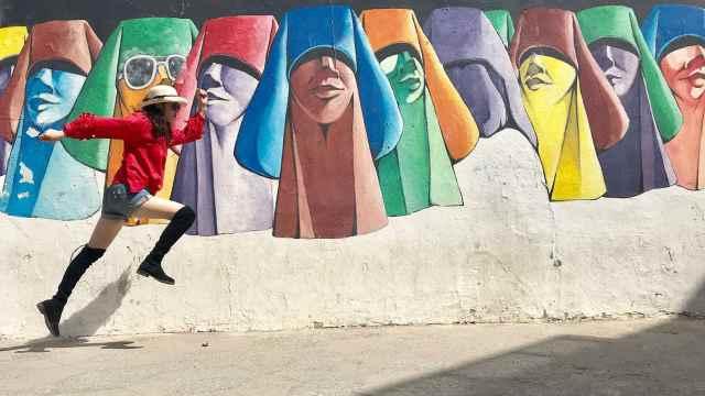 摩洛哥壁画小镇 满城都任你涂鸦