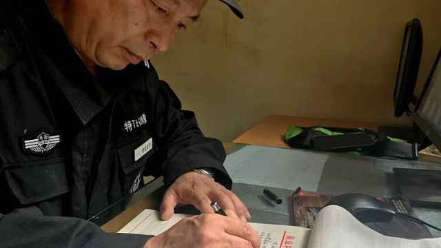 东大55岁保安,有一个大胆的想法