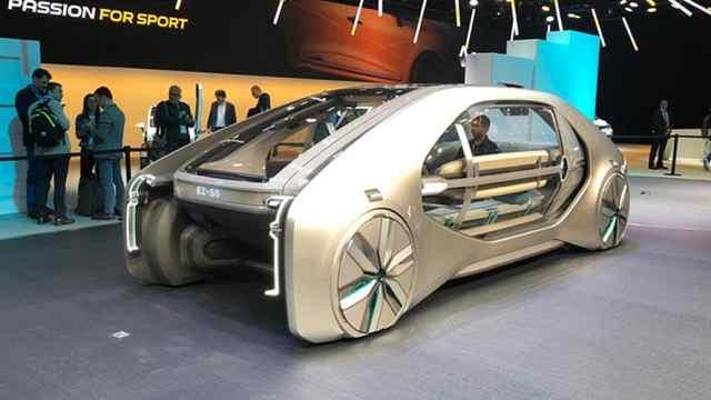 雷诺推出超级概念车,赚足土豪眼球