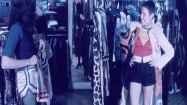 70年代姑娘的穿搭非常时髦!