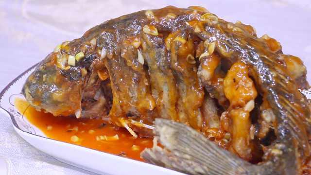 糖醋鲤鱼,经典家常菜