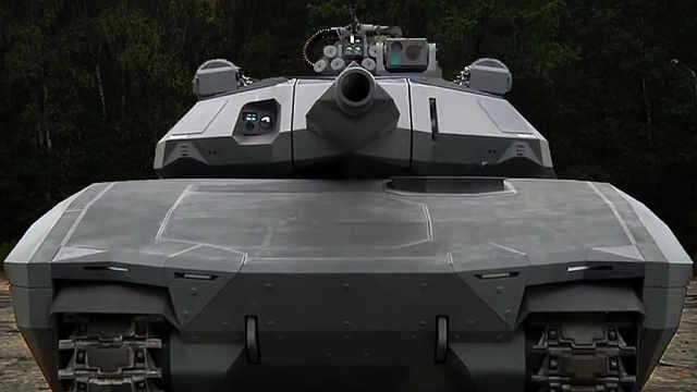 全世界第一款隐身坦克诞生