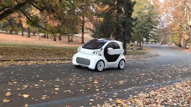 汽车也能3d打印了,还是纯电动车