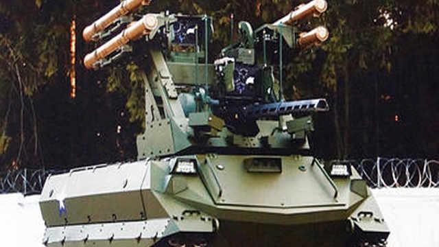 莫斯科曝光新型战斗机器人