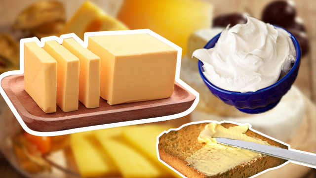 黄油、牛油和奶油,有什么区别吗?