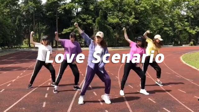 《Love Scenario》翻跳,帅气活力