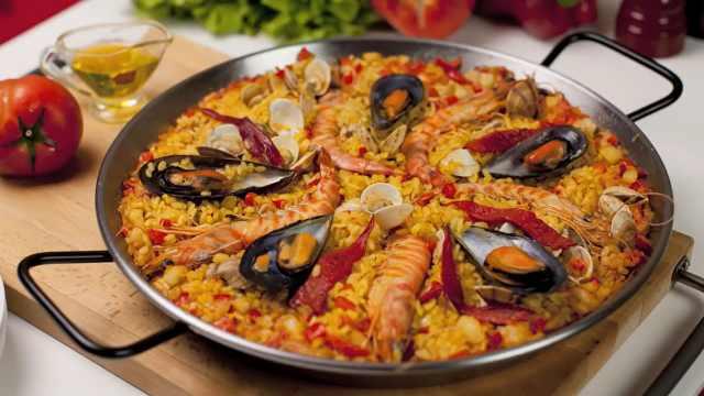 懒人菜谱:手把手教做西班牙海鲜饭