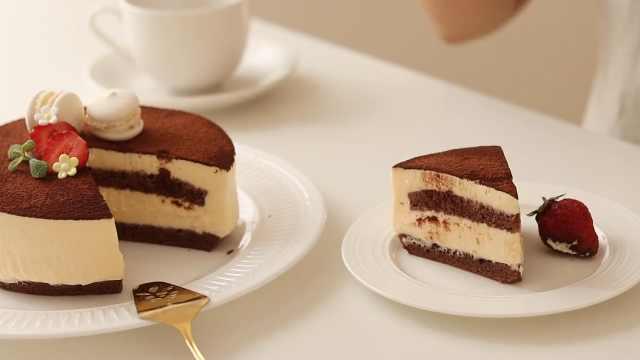 美味巧克力提拉米苏,意式经典甜品