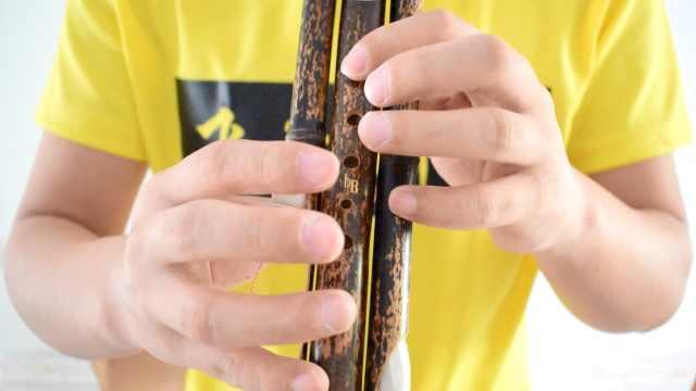 葫芦丝教程第二课:学习乐曲