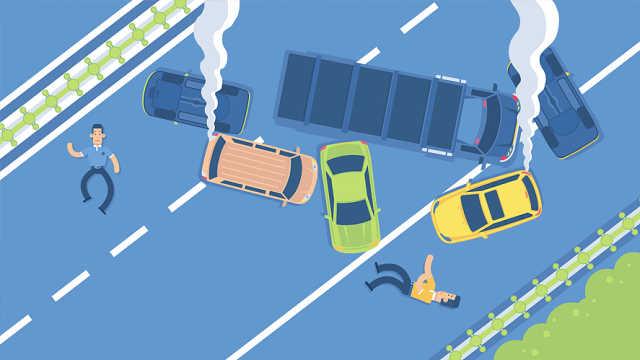 高速突发事故怎么做才最安全?